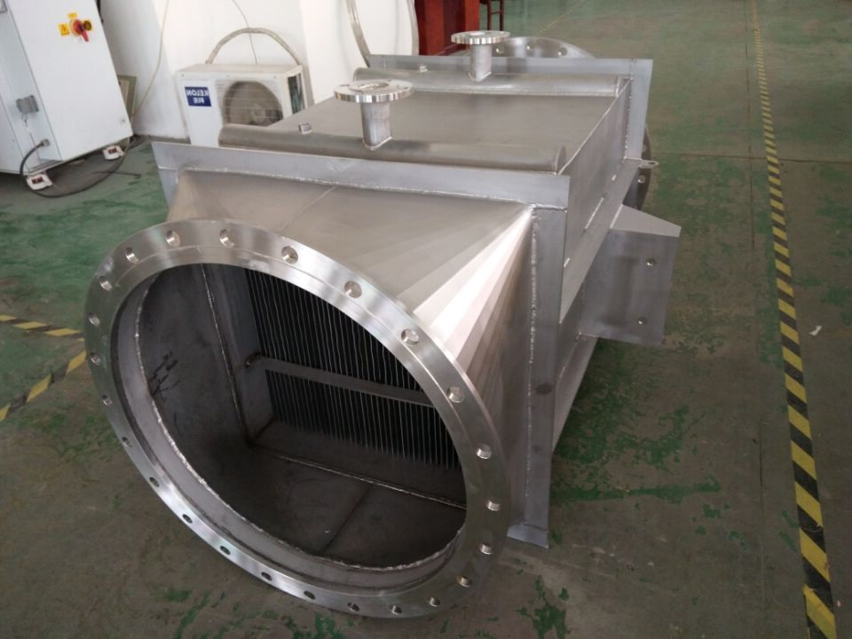 Natural Gas Burning Heat Recovery----Air to Water Heat Exchanger